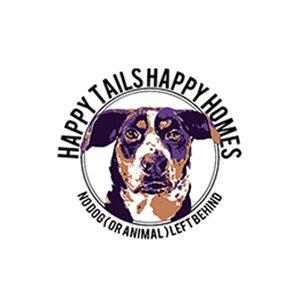 happy tails happy homes logo